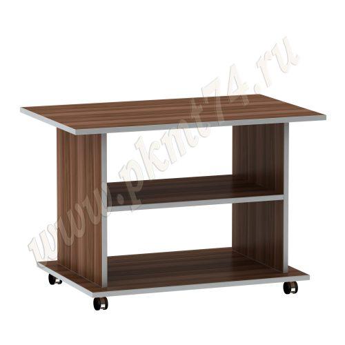 Журнальный стол на колесах МТ 29-7 Слива-Алюминий