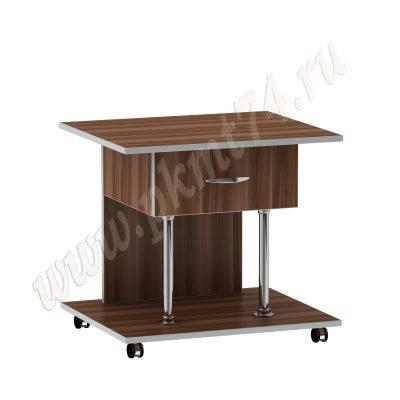 Журнальный стол универсальный МТ 29-5 Слива-Алюминий