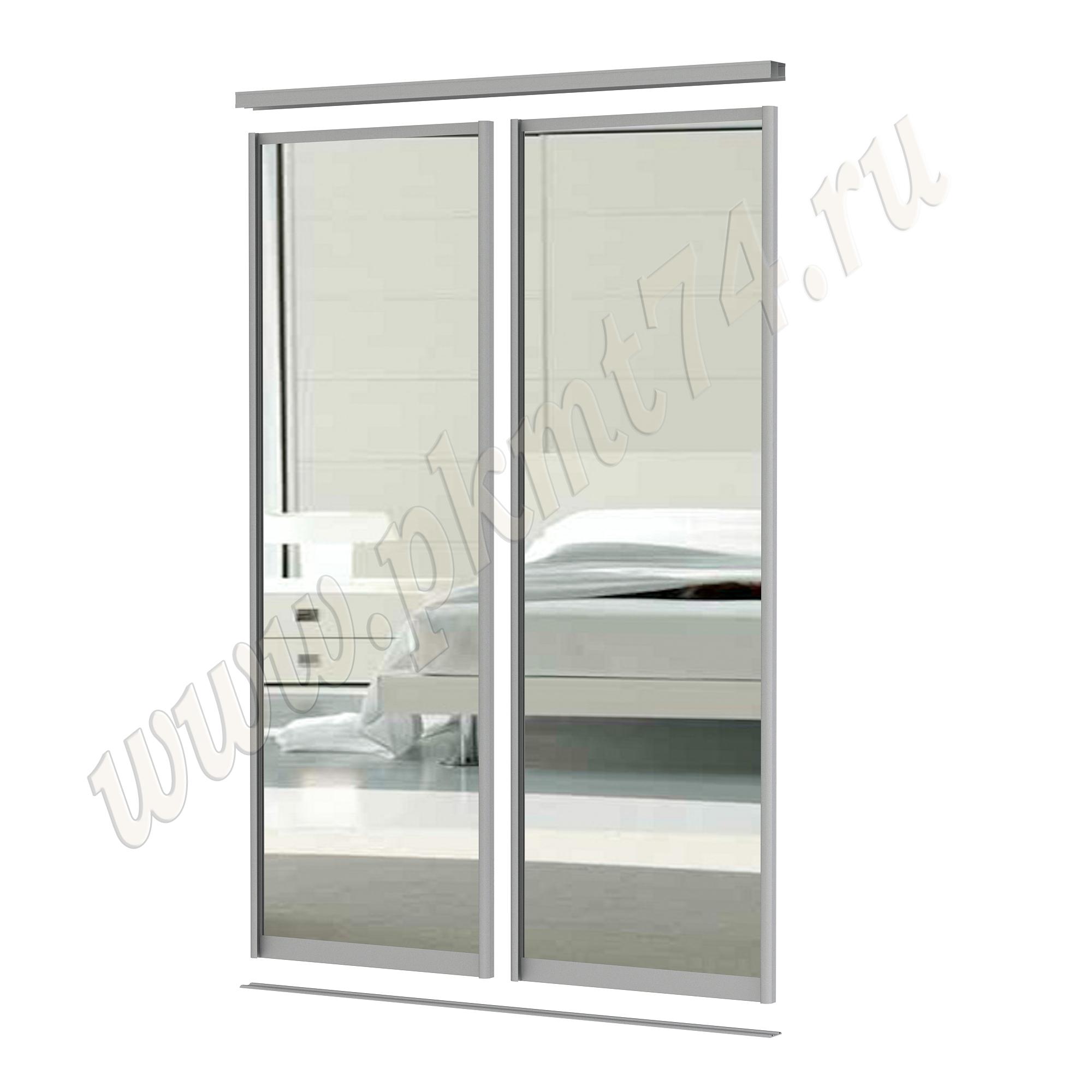 Зеркальные двери для шкафа купе [Размер:: 1200х2500]
