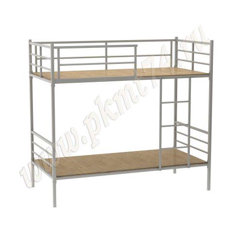 Кровать металлическая с лестницей МТ 16-15