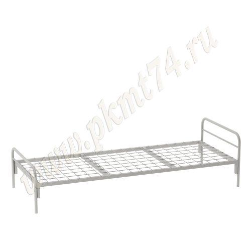 Кровать металлическая с сеткой МТ 16-10