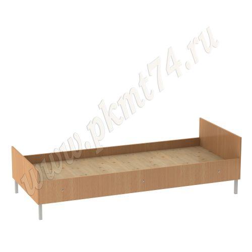 Кровать на металлическом каркасе МТ 16-1 Бук
