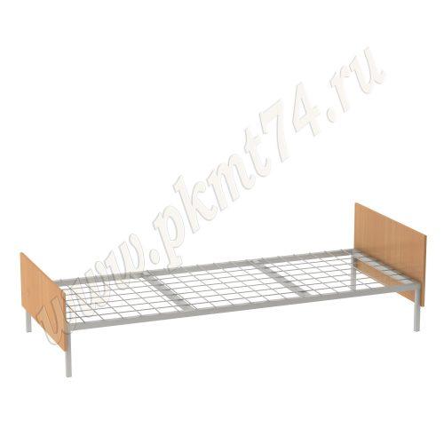 Кровать одноярусная с сеткой МТ 16-7 Бук