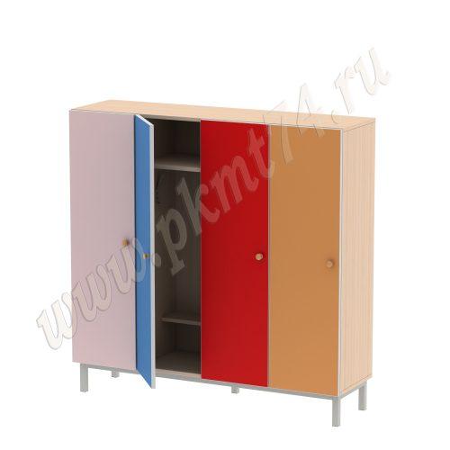 Шкаф для одежды детей МТ 17-87 Ирис-Голубой-Кр-Оранж