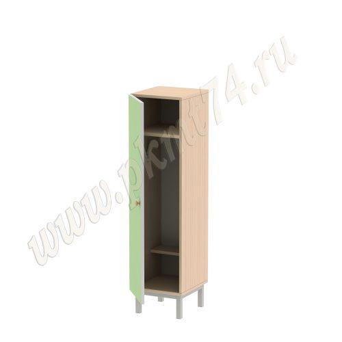 Шкаф для одежды детский МТ 17-51 Мол-Салатовый