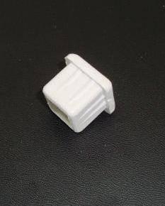 Заглушка пластиковая внутренняя 20х20 белая