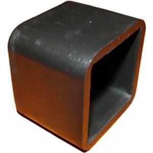 Заглушка пластиковая наружная 40×40 копыто