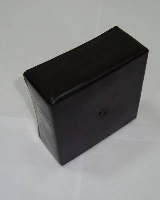 Заглушка пластиковая наружная 80×80