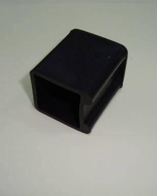 Заглушка пластиковая наружная 25×25 копыто